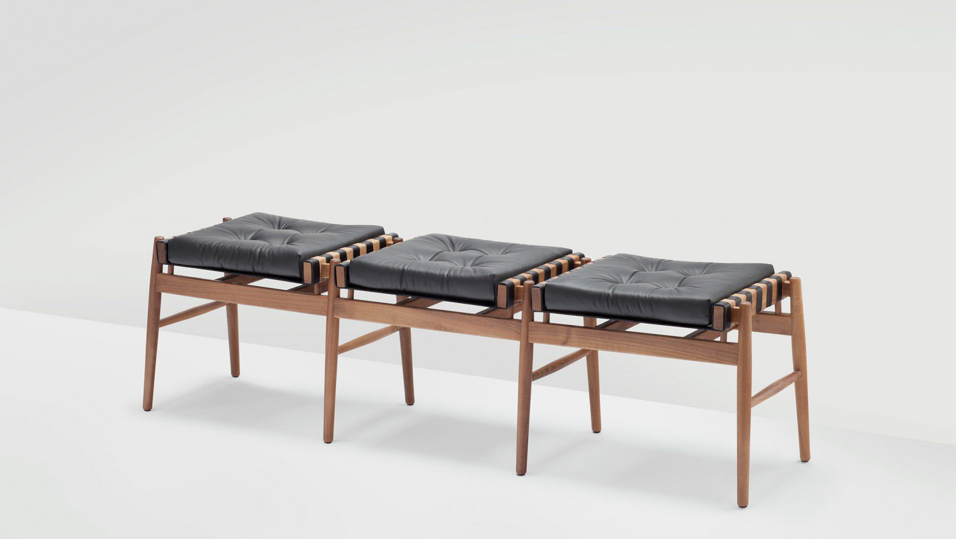 wood and leather bench – home bench decor - contemporary bench wood leather h furniture bpress page