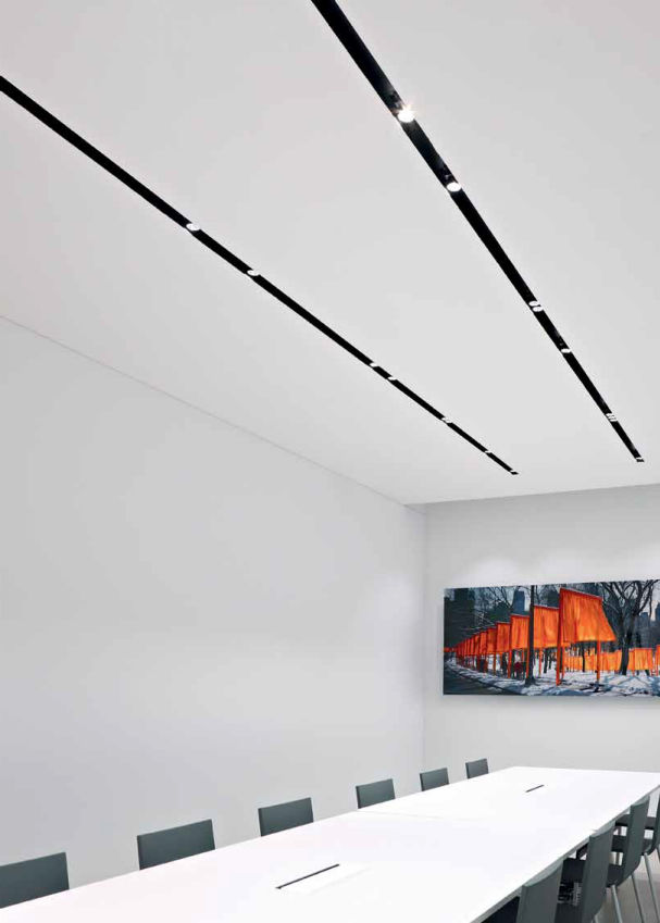 recessed track lighting systems. Tracklight System SPLITLINE 52 DELTA LIGHT Recessed Track Lighting Systems