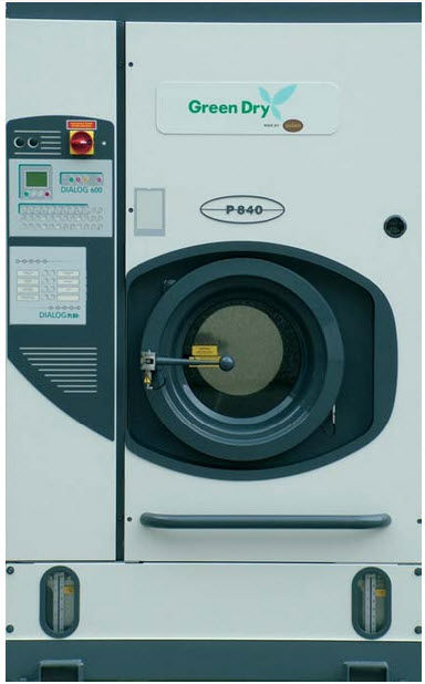 Commercial dry cleaning machine P840 by Mr. Kohei Sawa Union S.p.A.