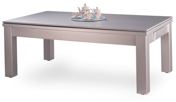 Table a manger transformable maison design for Table a manger billard