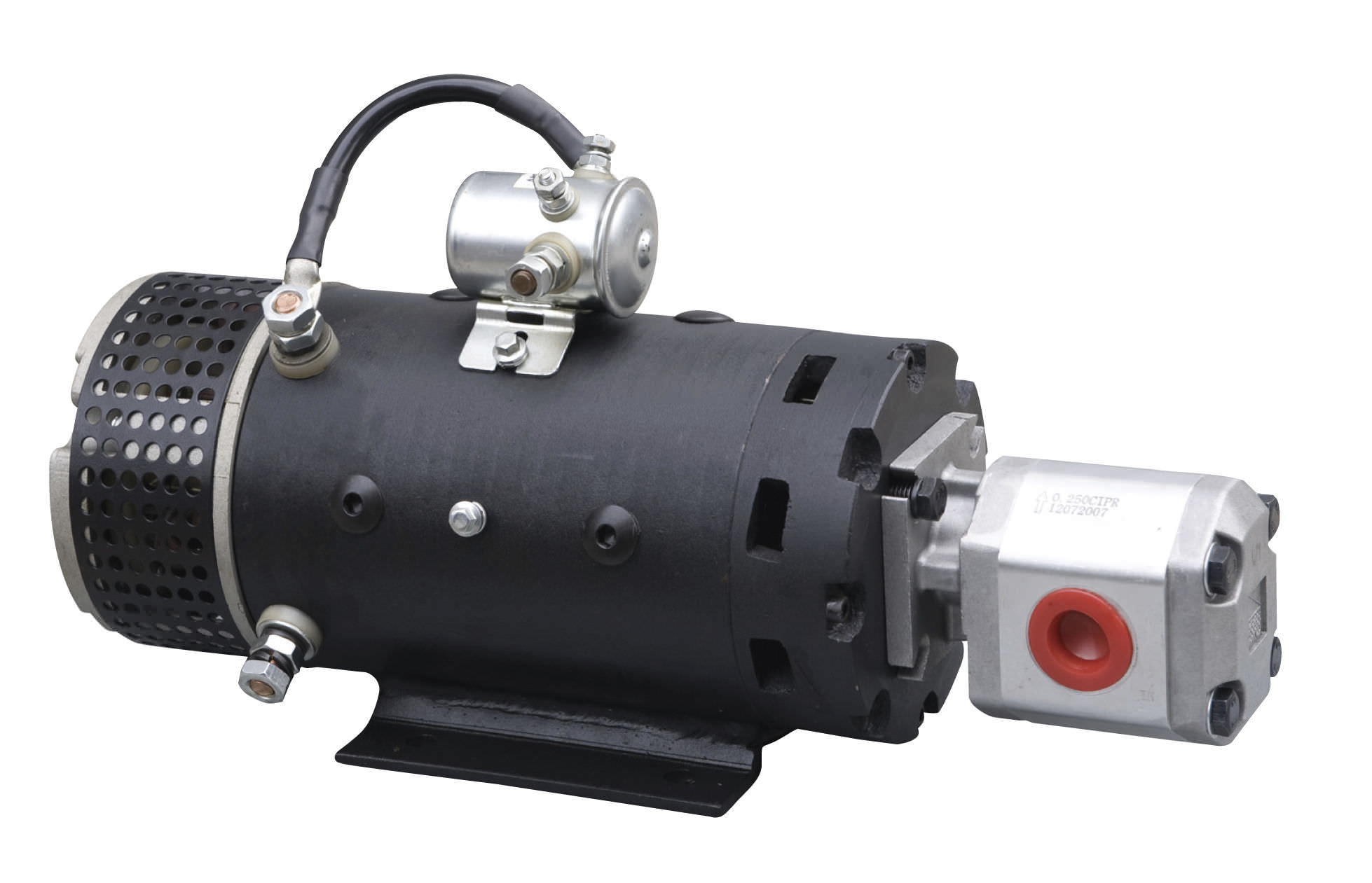 Dc Electric Gearmotor For Hydraulic Application Pumps