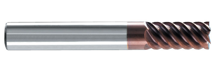 High-performance end mill MS 168