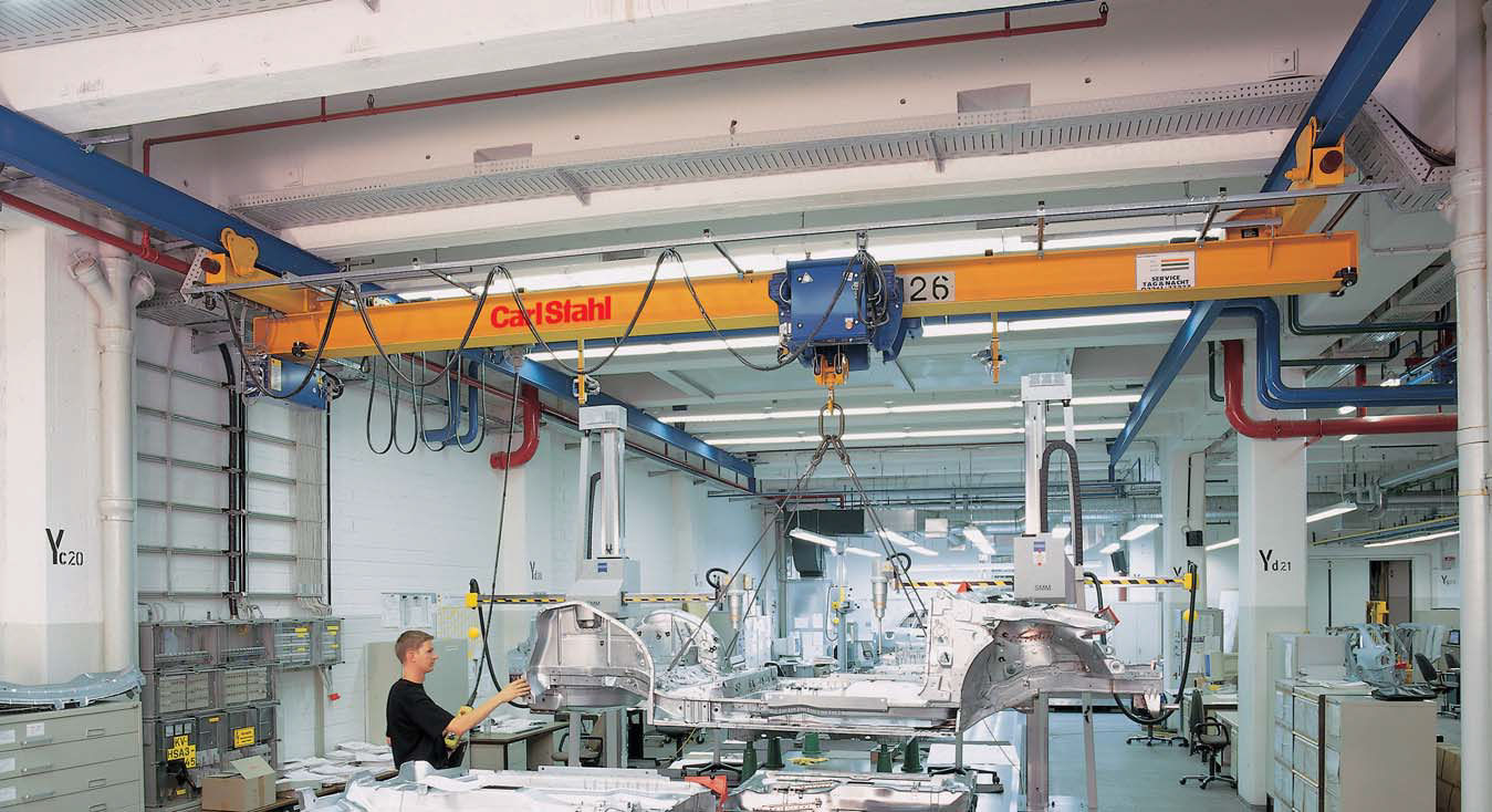 Overhead Crane 500kg : Carl stahl gmbh page
