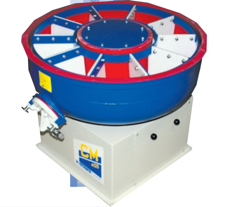 Circular finishing vibrator 110 – 1 000 l | CM series