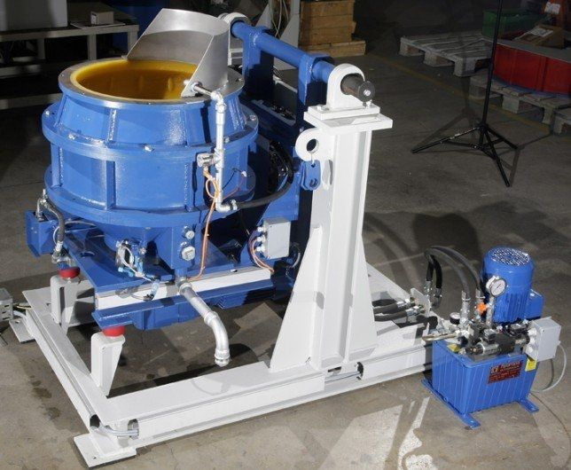 Centrifugal disc finishing machine 25 – 140 l | TT B series