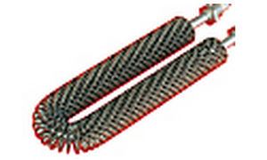 Finned heating element max. 700 °C | RHR